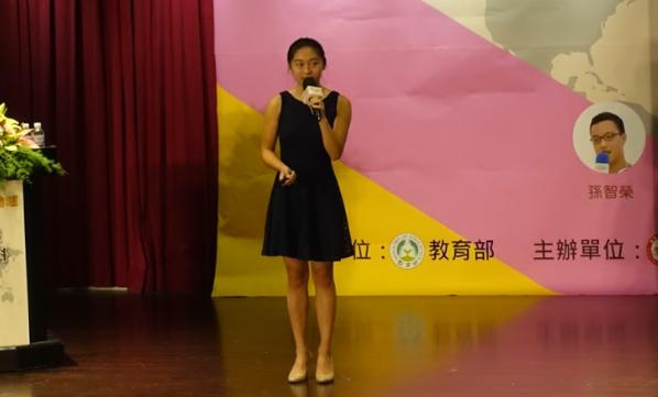 台裔女孩林心瑜透過推動「化廢油為燃料」計畫,讓超過600戶的家庭有暖氣可吹。(p...
