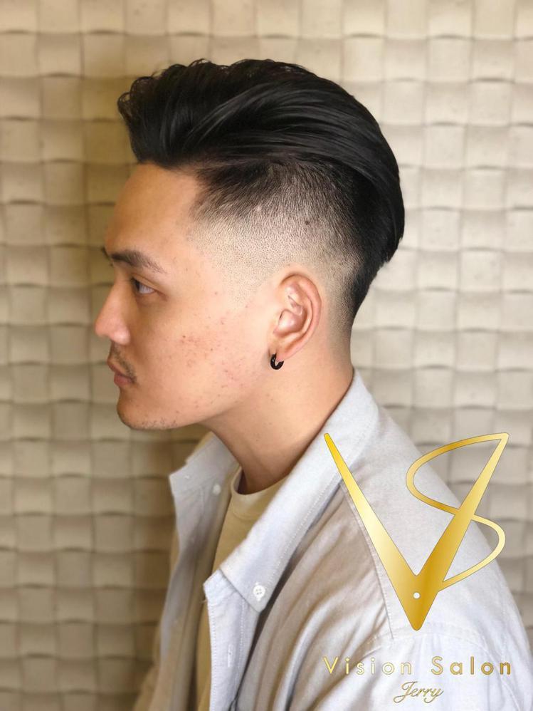 髮型創作/Jerry Lin。圖/StyleMap提供