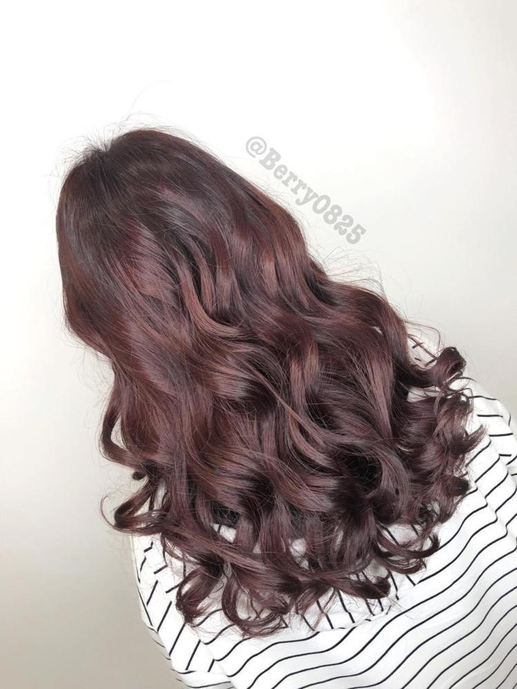 髮型創作/台南美髮設計師 Berry。圖/StyleMap提供