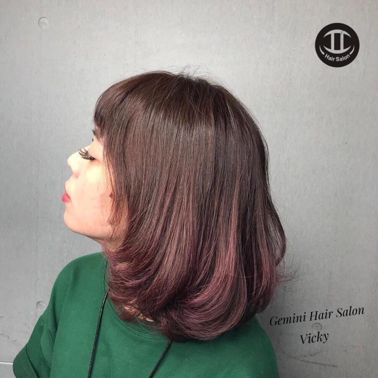 髮型創作/ Vicky。圖/StyleMap提供