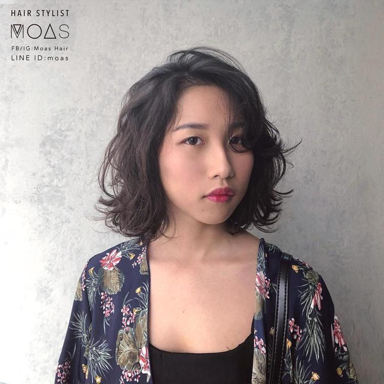 髮型創作/Moas (摩斯)。圖/StyleMap提供