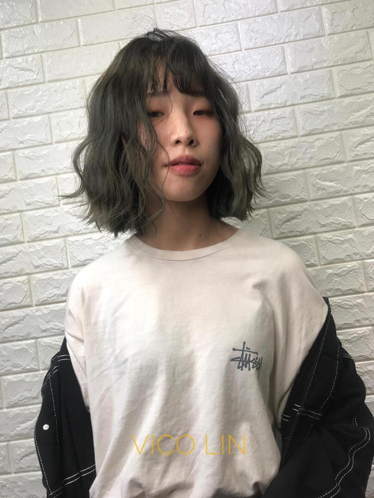 髮型創作/Vico Lin。圖/StyleMap提供