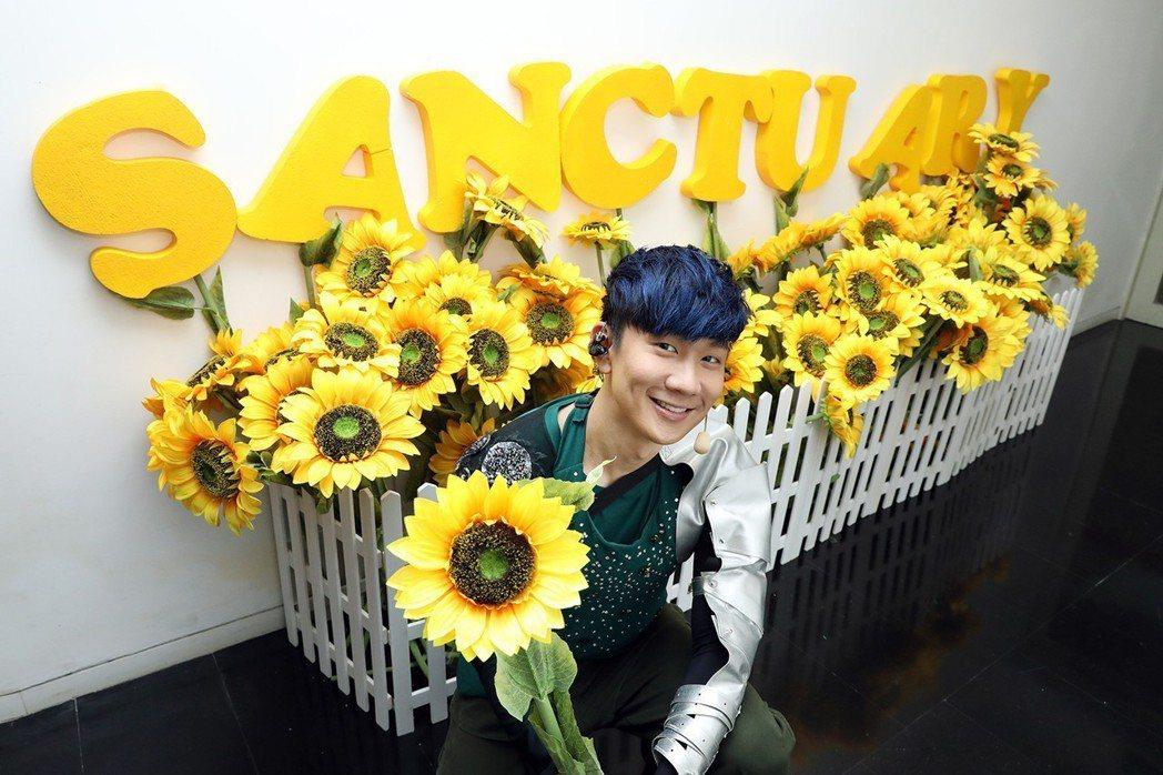歌迷貼心的布置讓林俊傑感到很溫暖。圖/JFJ Productions提供