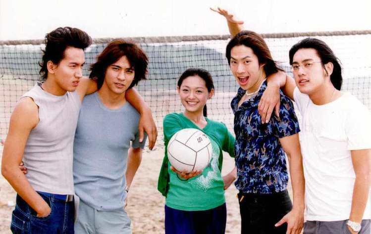 鮮明的人物特質讓這F4成了台灣第一組主打高富帥花美男形象的團體。圖/聯合報資料照
