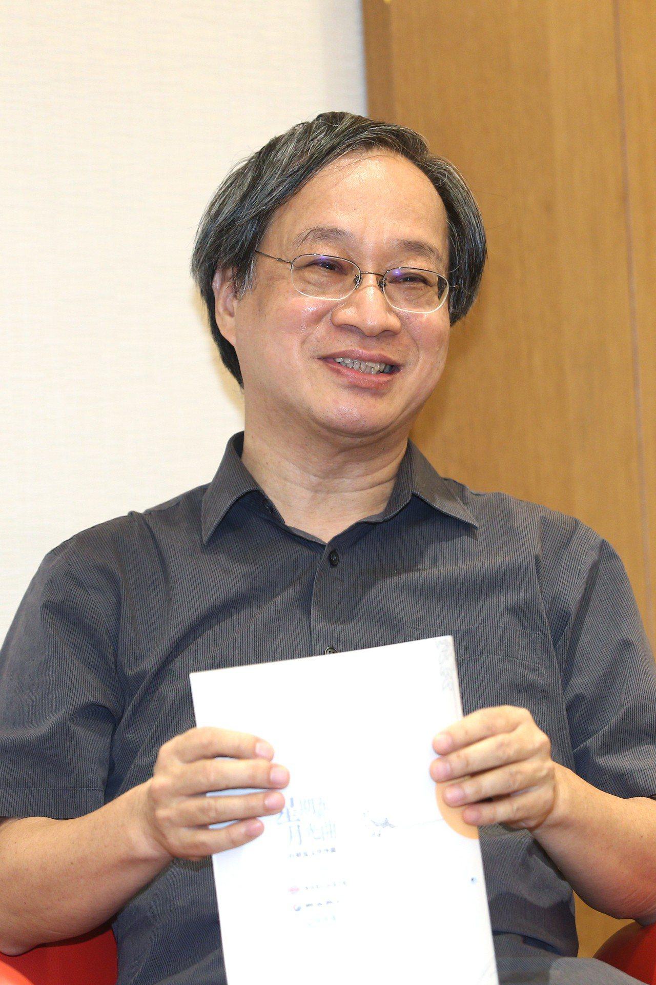 小野出任柯文哲競選總幹事。台北市長柯文哲16日證實,小野已經開始幫忙整理資料。記...
