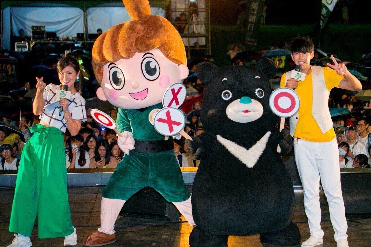 第一銀行文教基金會舉辦的「愛Fun第一綠生活」嘉年華,周六(15日)移師到台北大...
