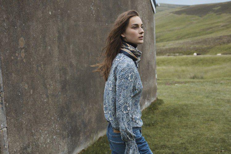 H&M與百年家飾品牌Morris & Co.攜手合作,以著名的典藏印花搭配量身打...