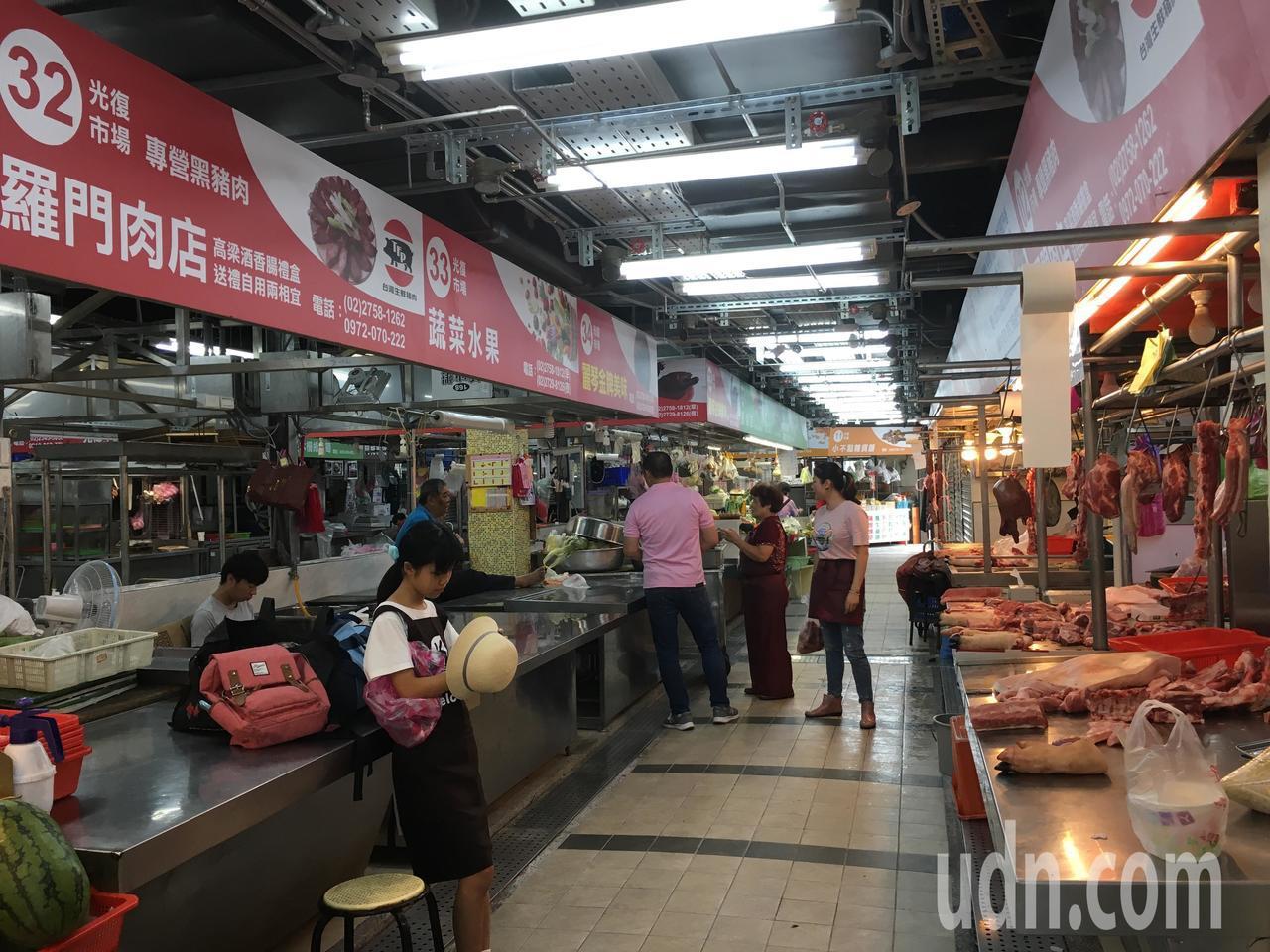 位於台北101、國父紀念館旁的光復市場,近期改裝重新開張,在今天(16日)舉辦開...