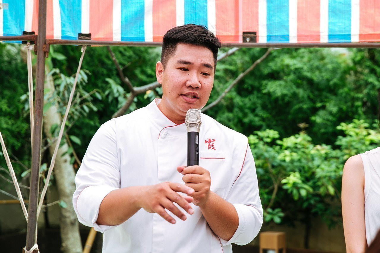 「阿霞飯店」第四代接班人吳健豪。圖/台南美食節提供