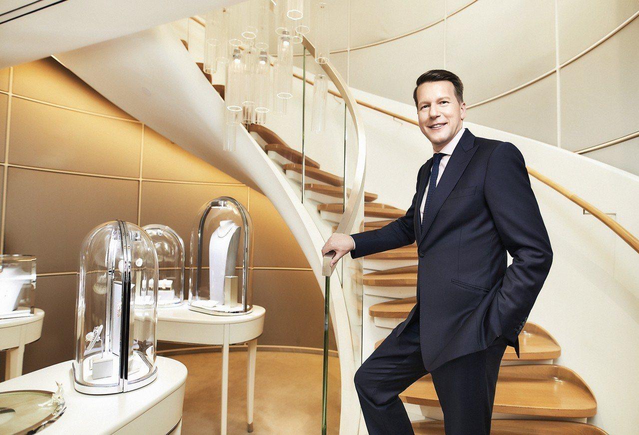 梵克雅寶亞太區總裁Nicolas Luchsinger對藝術、珠寶、骨董情有獨鍾...