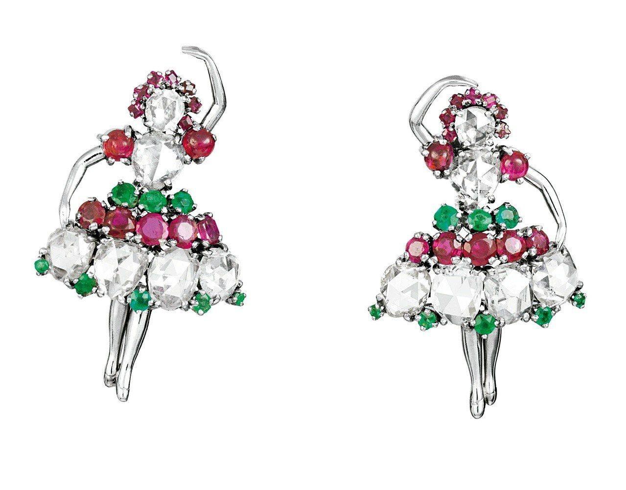 Ballerina別針,Van Cleef & Arpels梵克雅寶典藏,194...