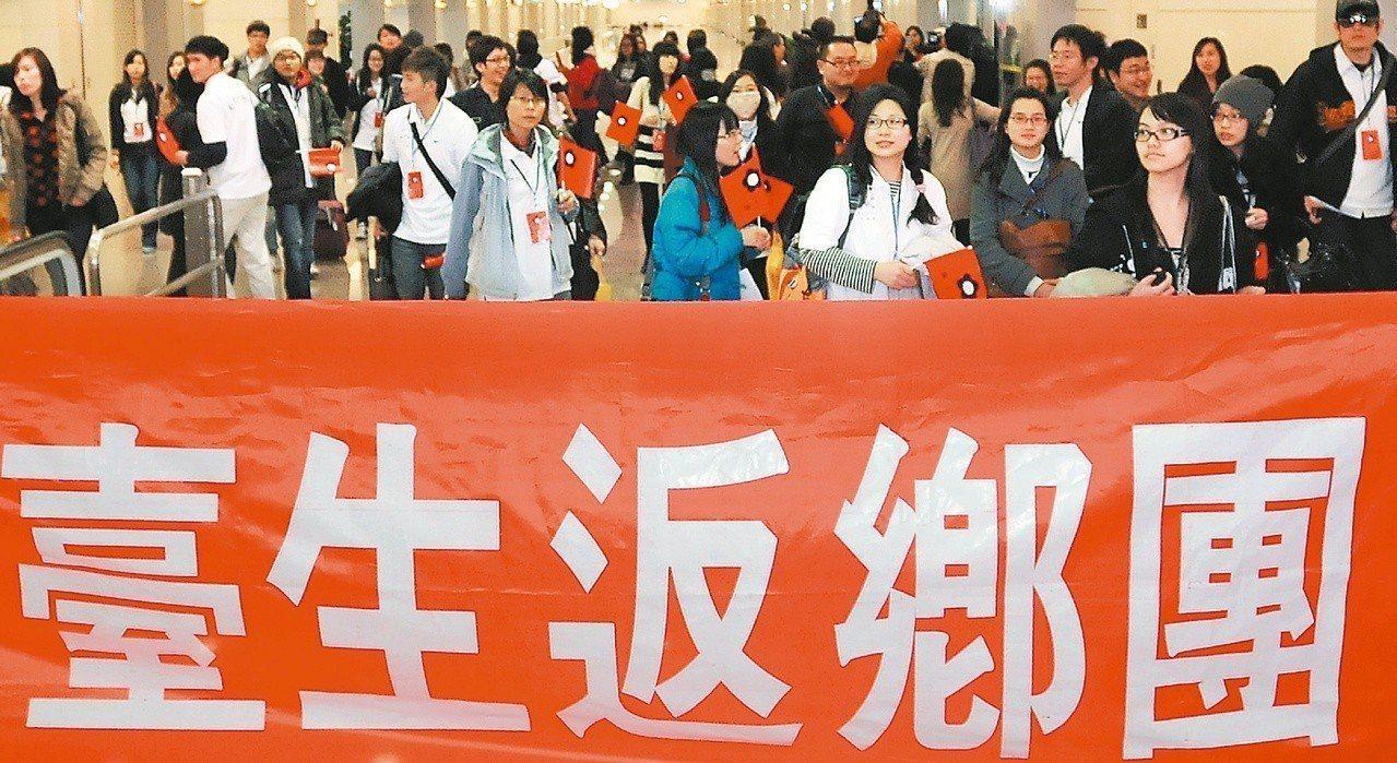 台灣民眾西進大陸的意願逐漸上升。 圖/聯合報系資料照片