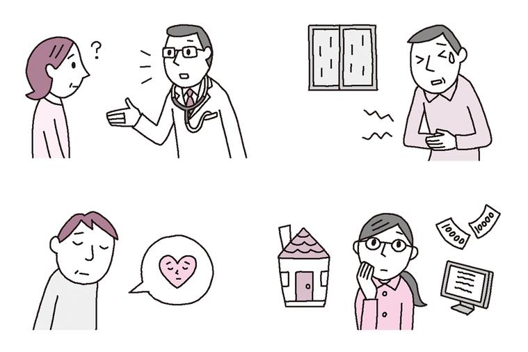 圖╱摘自《當父母罹癌時:照護、溝通、醫療、心理狀態……40歲子女應該要懂的人生中...