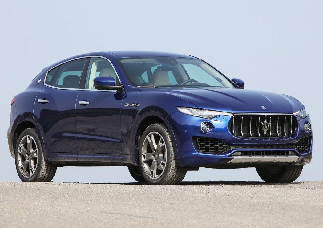 Maserati Levante休旅車 要價458 - 608萬元。 摘自Mas...