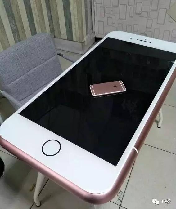 超大iPhone桌。 圖片來源/搜狐