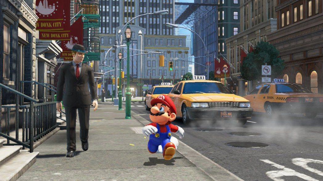 《超級瑪利歐奧德賽》於2017年發售,將箱庭玩法發揮極致的作品之一。
