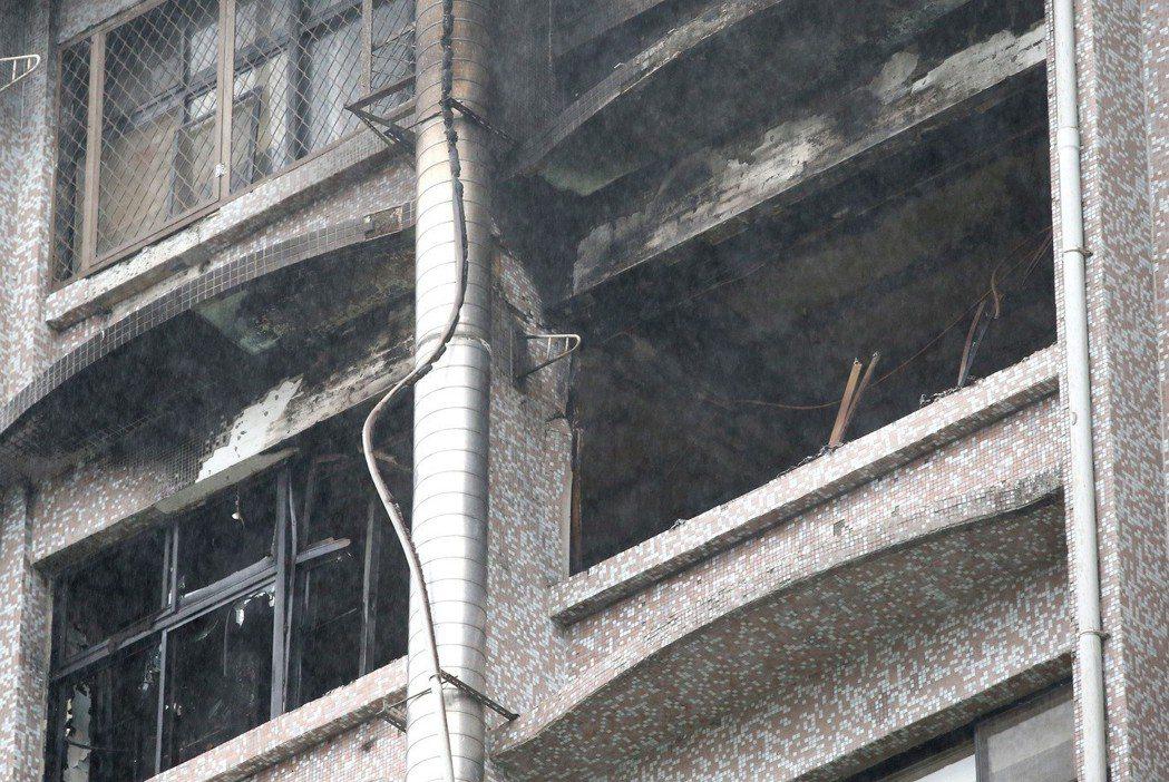 今年8月,衛福部台北醫院護理之家惡火奪走9條人命。 記者林澔一/攝影