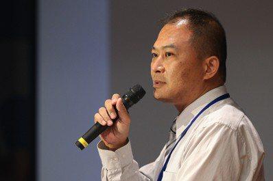 台北市社區銀髮族長期照顧發展協會理事長吳第明。 記者林伯東/攝影