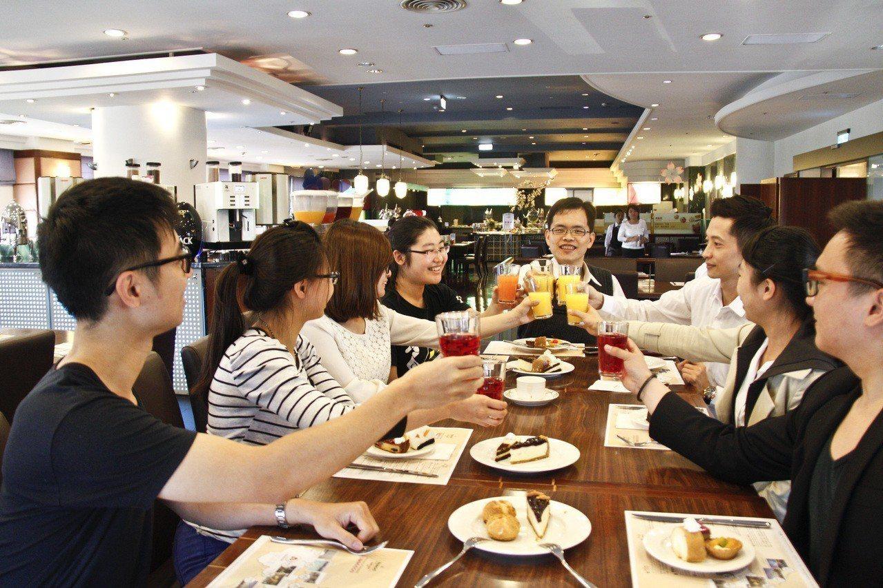 同學會示意圖。 圖片來源/台中福華大飯店提供