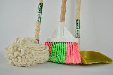 不同的家事要做的頻率也不一樣。圖/pixabay