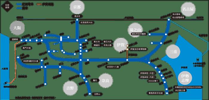 近畿鐵道周遊券 KINTETSU RAIL PASS。 圖/kintetsu.c...