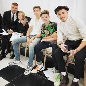 倫敦時尚周/Victoria Beckham回歸 貝克漢一家人捧場