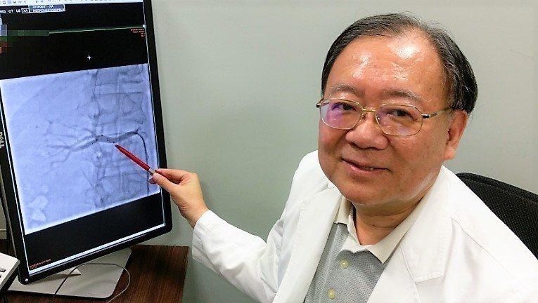 長安醫院心臟血管科醫師高宏門說,因腎交感神經阻斷術導管的進步,對於治療高血壓效果...