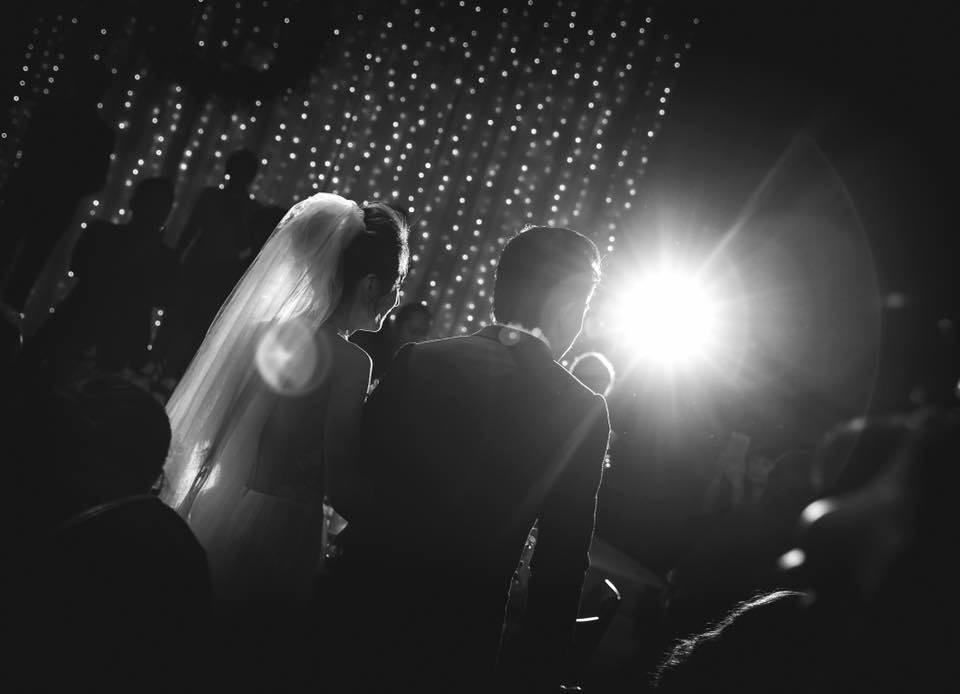 坤達和柯佳嬿15日辦完婚禮。圖/摘自柯佳嬿臉書