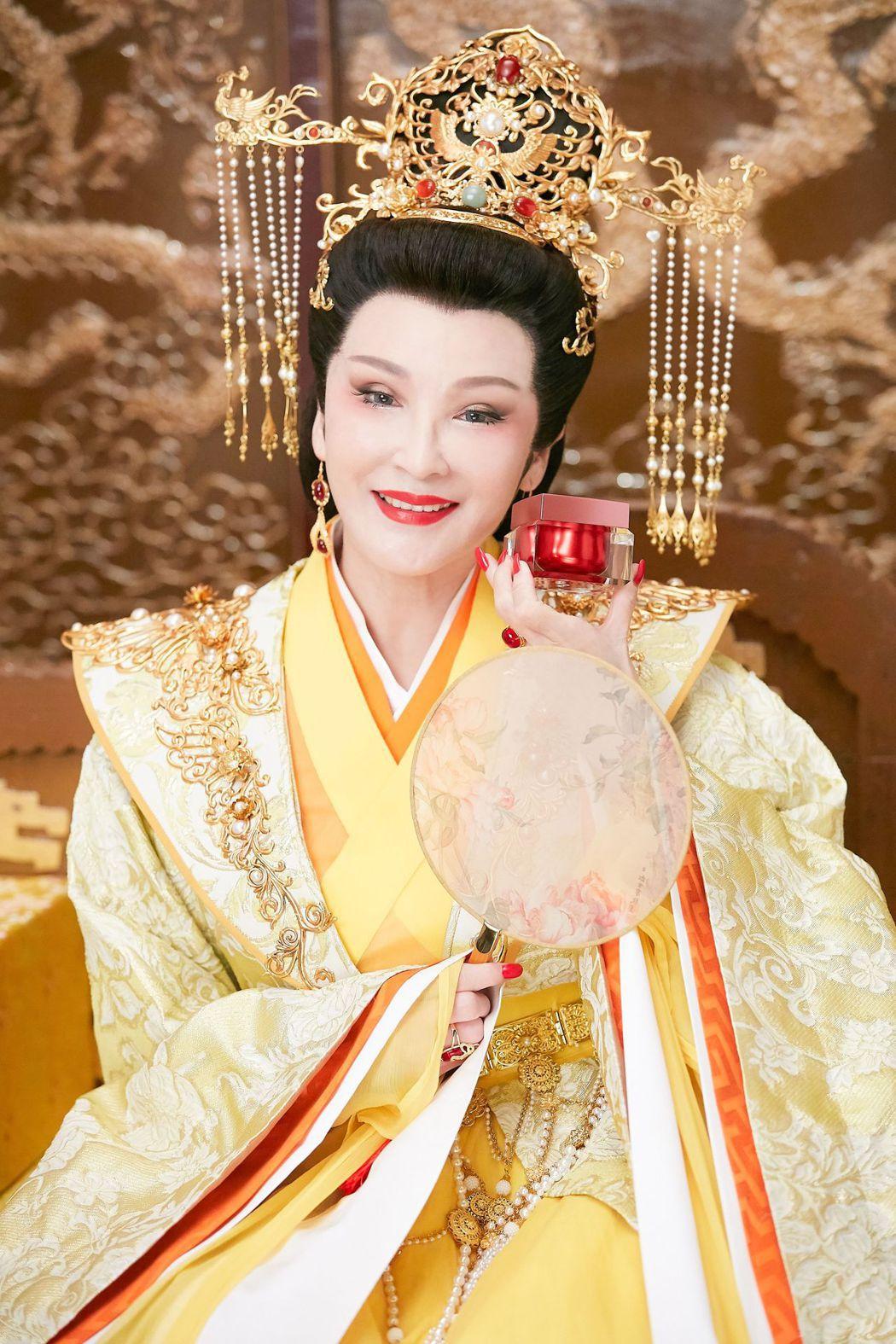 陳莎莉接下保養品代言。圖/京城之霜提供