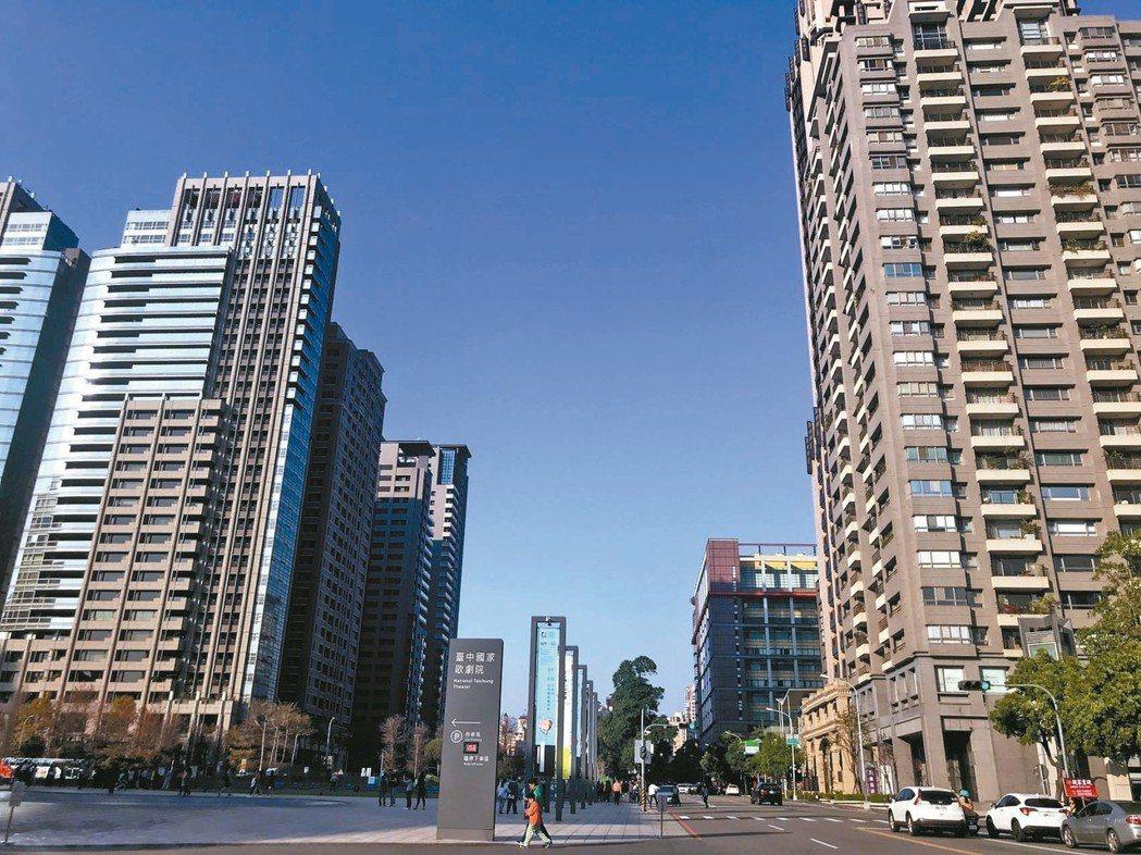 四大都會區民眾購屋預算均向上提升,台中市預算上移至1000萬元。 圖/聯合報系資...