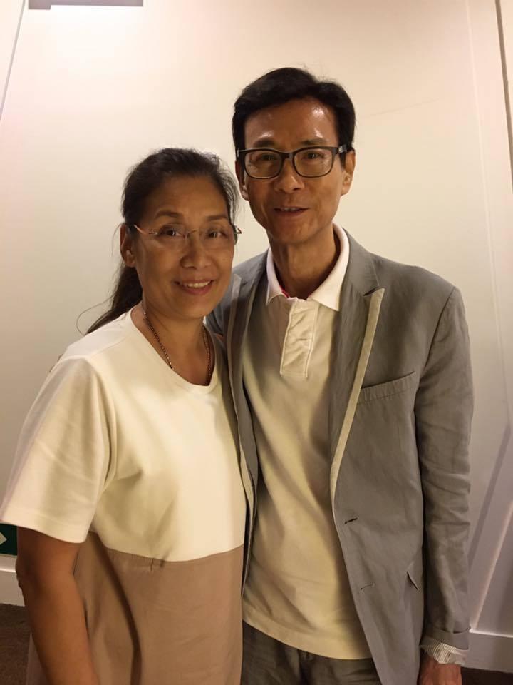 知名港星楊盼盼(圖左)曾演出多部膾炙人口的電影。圖/擷自臉書。