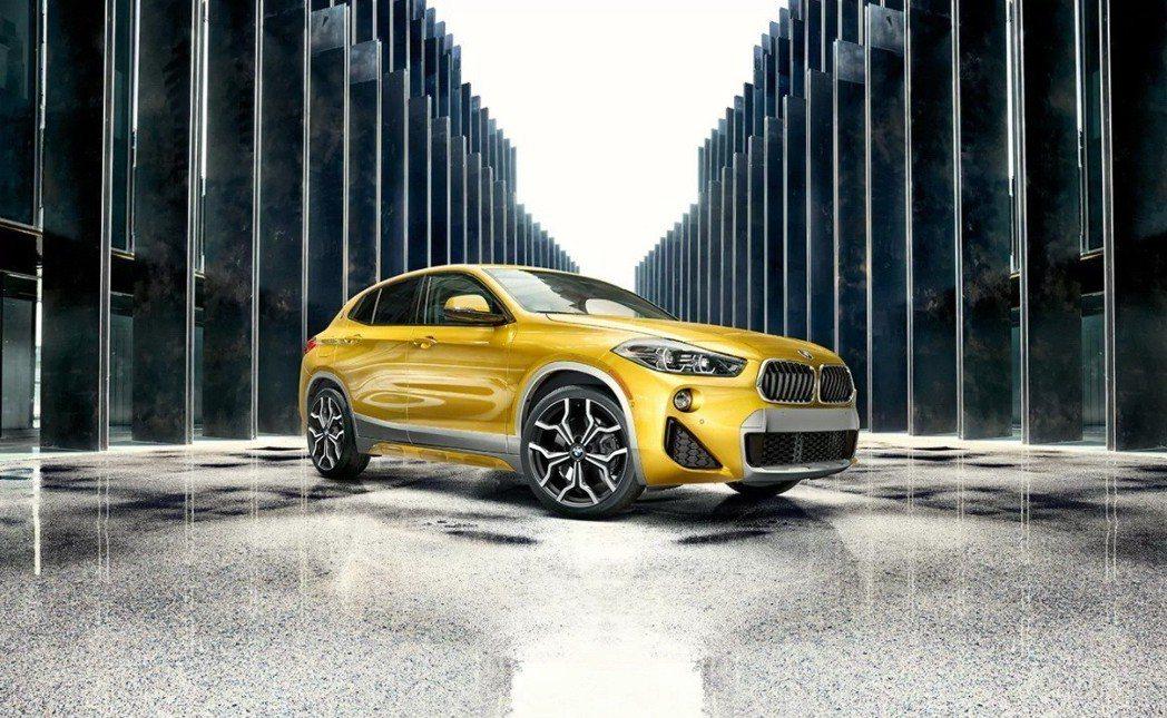 全新BMW X2 sDrive18i搶眼登場! 圖/汎德提供