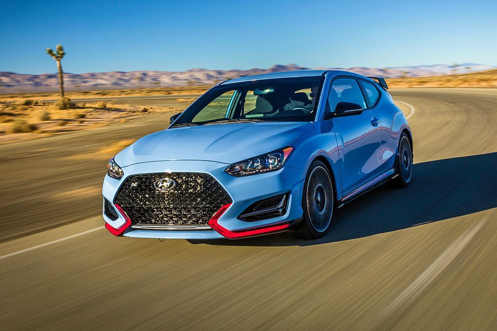 Hyundai Veloster N入圍年度性能車獎項。 圖/Hyundai提供
