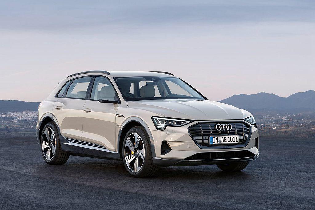 Audi e-tron為品牌第一款純電休旅車。 圖/Audi提供