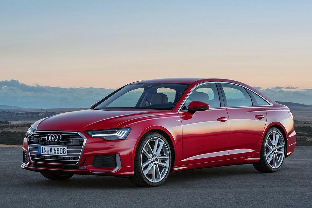 Audi A6。 圖/Audi提供