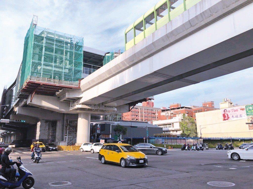台中市文心路。 圖片來源/聯合報系
