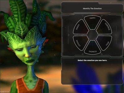 遊戲中,玩家必須學會辨別外星人的情緒才能獲勝。圖/翻攝curiosity.com