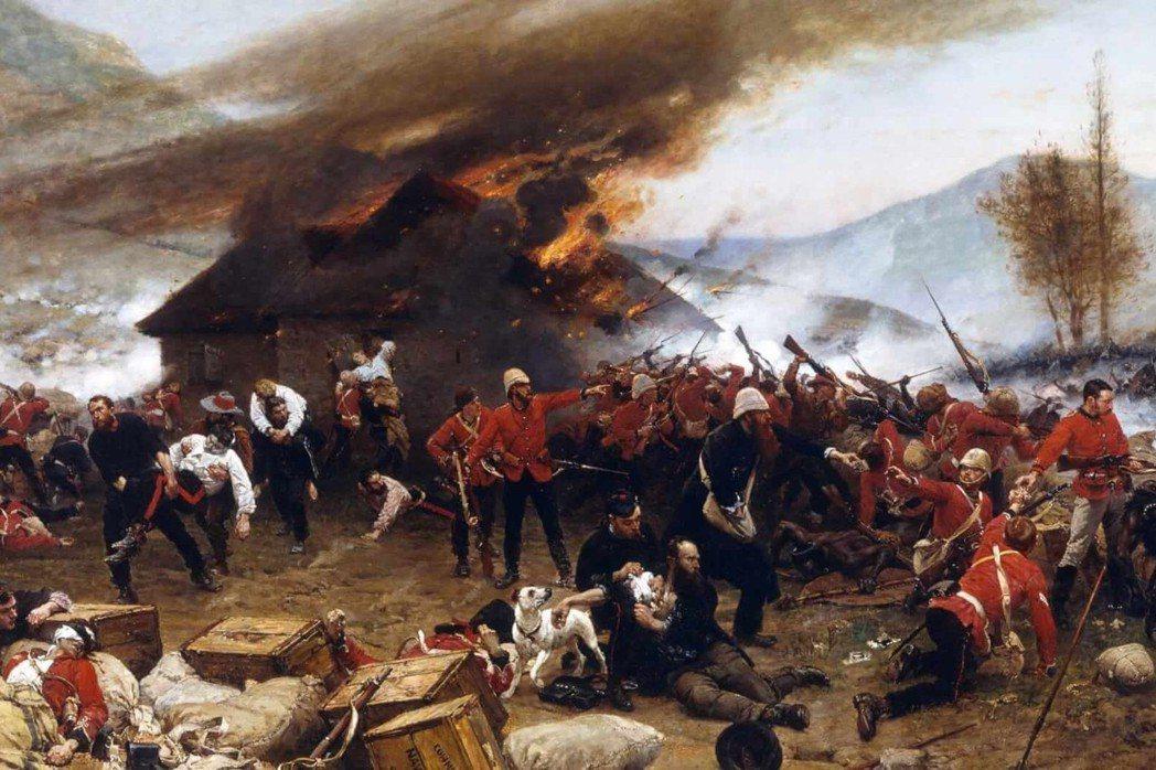 祖魯戰爭發生於1879年,是大英帝國與南非祖魯王國的戰爭。 圖/維基共享
