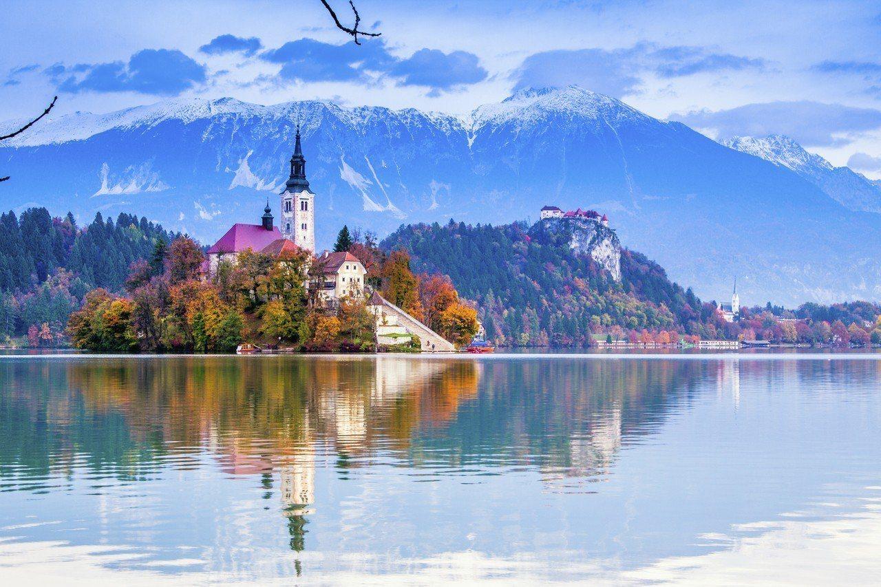 斯洛文尼亞 – 布萊德小鎮。