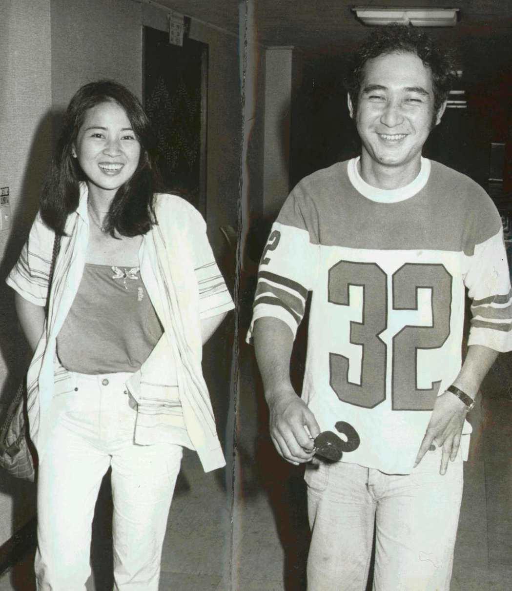 林鳳嬌和鍾世驊絕少被拍到合照,這一次之後戀情變得公開。圖/報系資料照片