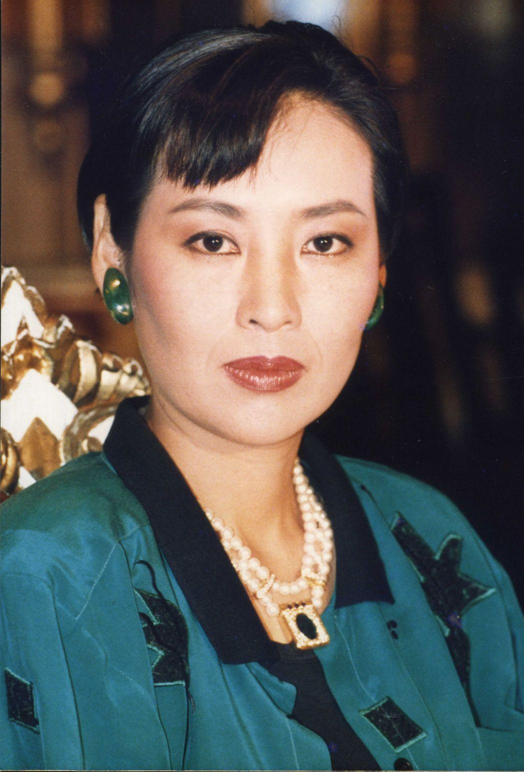 李湘是「一位陌生女子的來信」另一位女主角。圖/報系資料照片