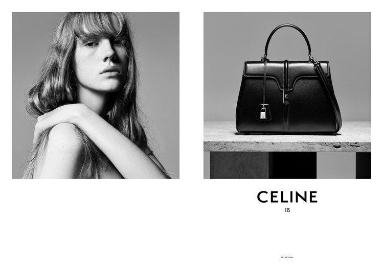 CELINE全新The 16手袋預計11月上市。圖/CELINE提供