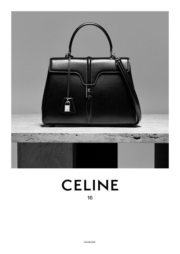 CELINE釋出全新The 16手袋形象廣告。圖/CELINE提供