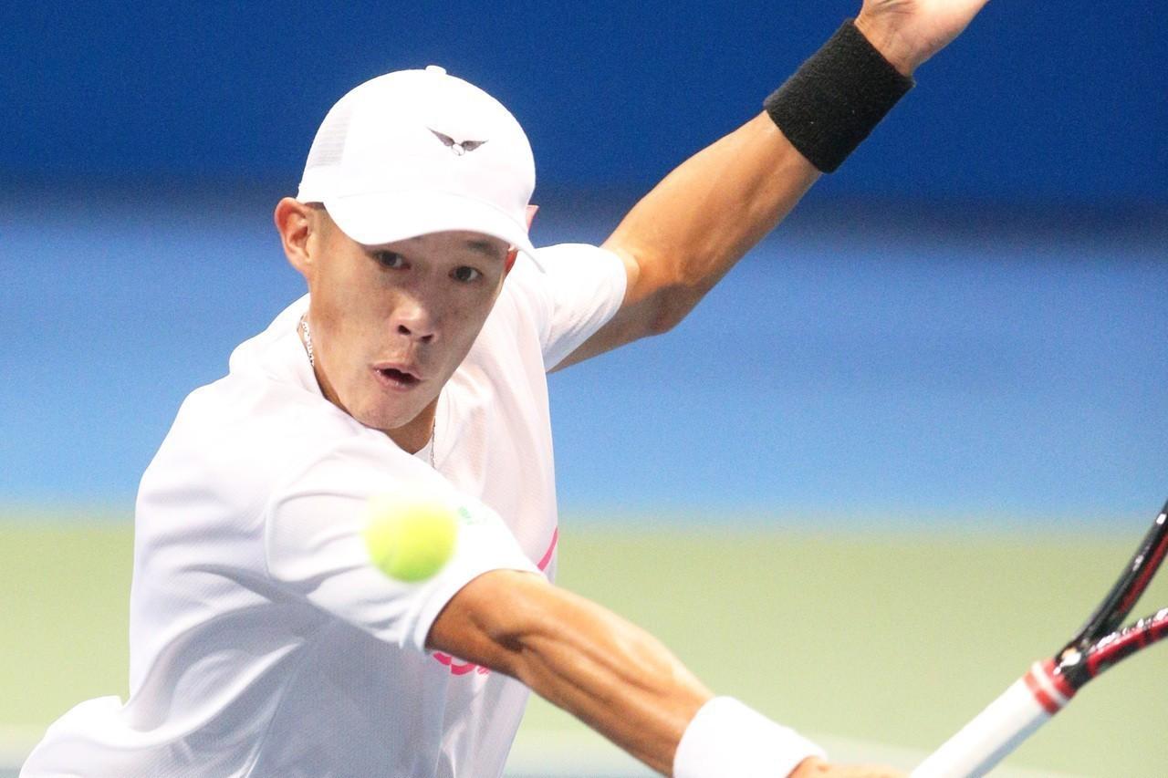 我國網球「一哥」莊吉生。 聯合報系資料照