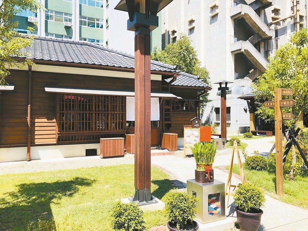 桃園77藝文町文創園區昨天開幕,將成為桃園新興打卡景點。 記者李京昇/攝影