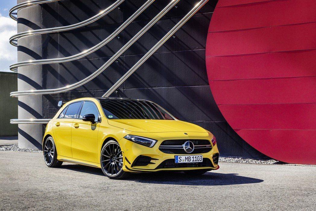 Mercedes-AMG A35 4MATIC挾302匹馬力登場。 摘自Mercedes