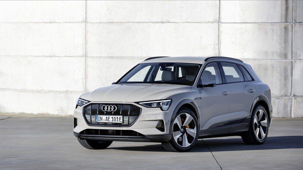 全新Audi e-tron。 摘自Audi