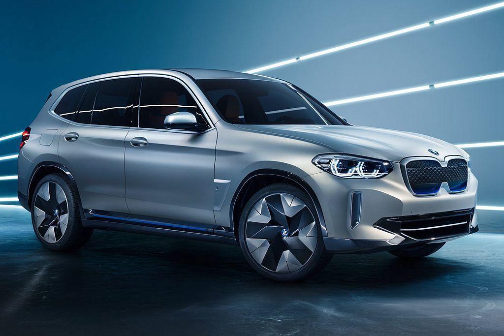 面對Audi與賓士電能休旅的夾擊,BMW也擬定好推出iX3來應戰。 圖/BMW提...