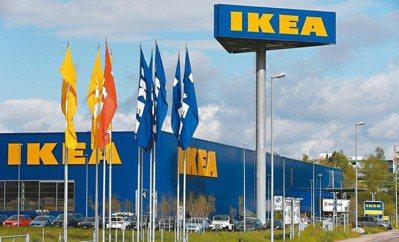 瑞典家具品牌宜家家居(IKEA)在全球約50國經營逾400家門市。圖/歐新社