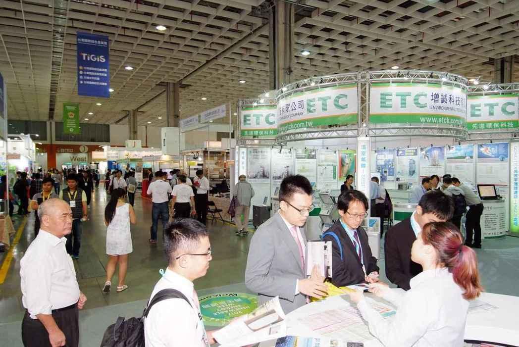 台灣國際循環經濟展今(19)在南港展覽館登場。圖/貿協提供